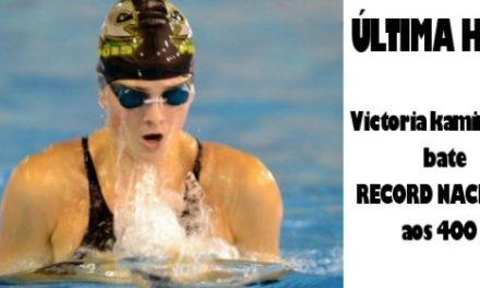 Victoria Kaminskaya bate Record Nacional aos 400 E e 200 E