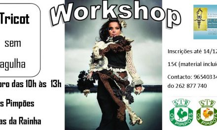 Workshop – Tricot sem agulha