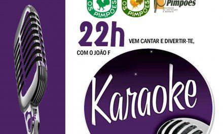 Karaoke nos Pimpões