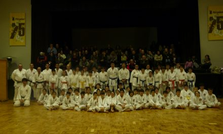 Karaté Shotokan da ADK – Portugal nos Pimpões com cerca de 70 atletas