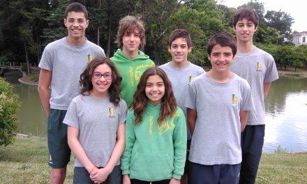 Atletas infantis dos Pimpões obtêm 17 medalhas distritais