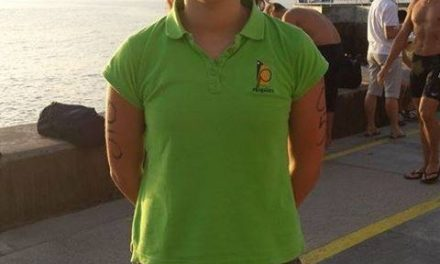 Ana Carolina Gomes testa forma no Madeira Island Internacional Swim Marathon