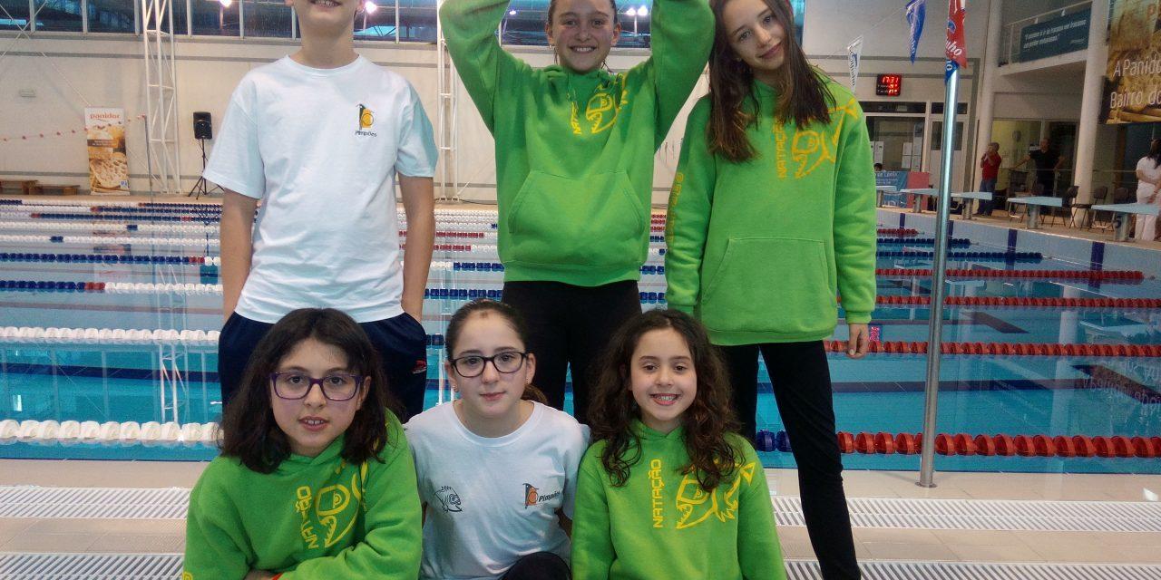 Atletas caldenses participam no Leiria Swim