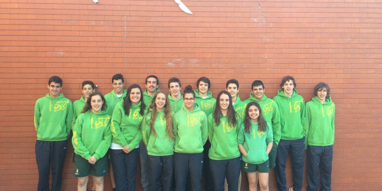 Pimpões/Cimai participa nos Distritais de Clubes na Nazaré