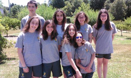 Equipa Infantil em bom plano no Campeonato Inter Distrital em Coimbra