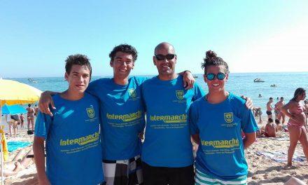Fim de semana de Águas Abertas para os atletas dos Pimpões/Cimai