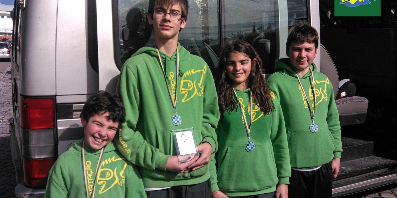 Atletas Cadetes no XIX Torneio Junta Freguesia de Alcobaça