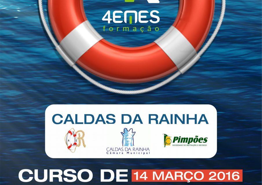 Curso de Nadador Salvador – 14 de Março – Caldas da Rainha