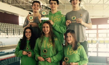 Atletas caldenses obtêm 6 pódios no Torneio Nadador Completo