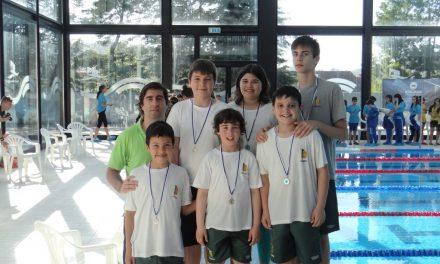 Atletas cadetes dos Pimpões participam no Nadador Completo em Ansião