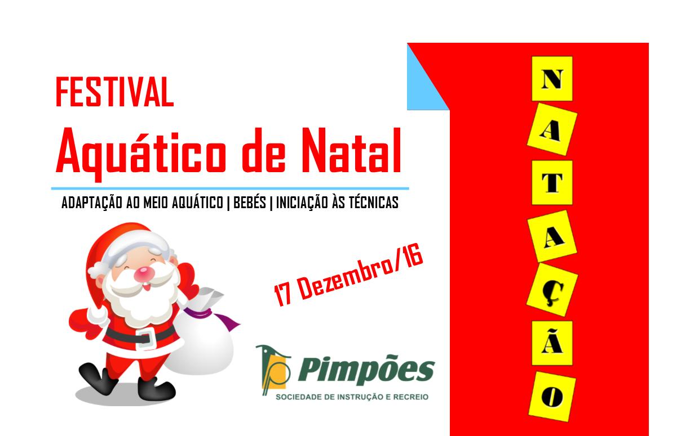 Festival Aquático de Natal – 17 Dezembro/16