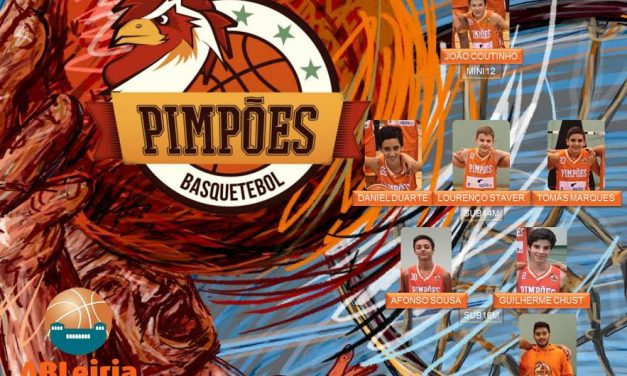 PIMPÕES BASQUETEBOL: ABL convocou 6 atletas d'«Os Pimpões» para os próximos estágios das Selecções Distritais