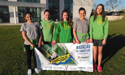 Constança Silva de prata no Torneio Zonal de Infantis Zona Sul