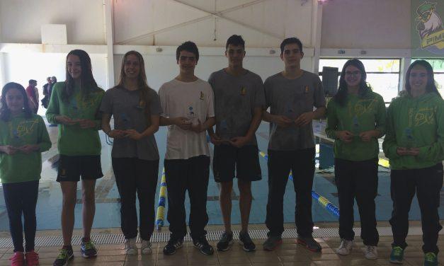 Pimpões/Cimai consegue oito pódios no Nadador Completo de Categorias