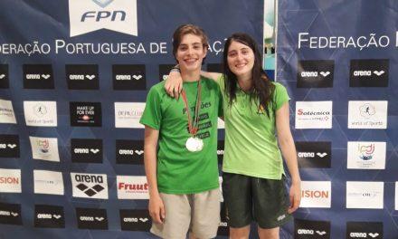 Atletas dos Pimpões com várias medalhas nacionais na natação adaptada