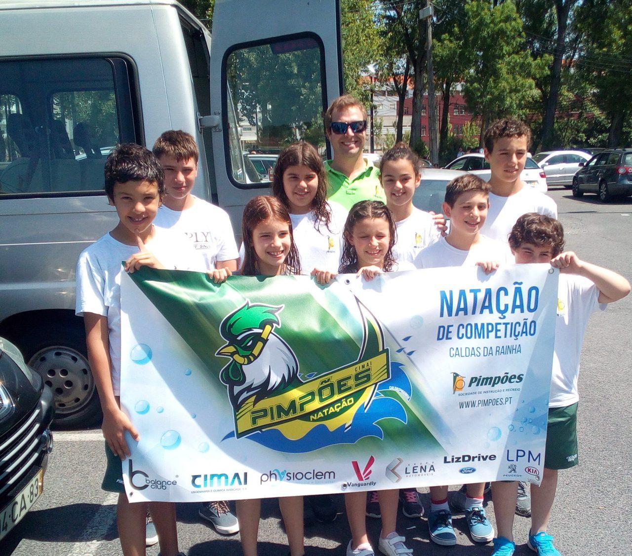 Pimpões competem em Leiria no 3º Torregri e no 5º Circuito de Escolas ANDL