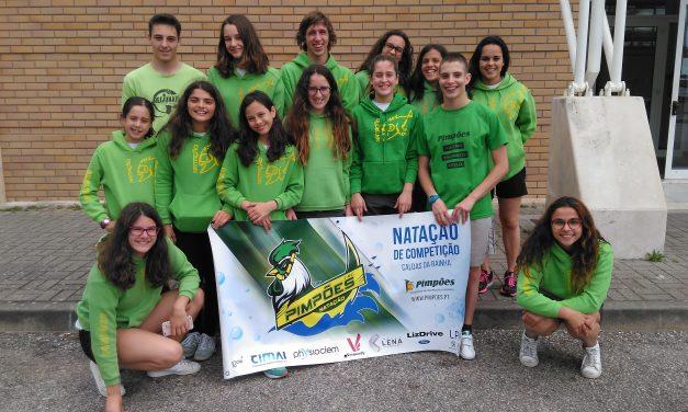 Atletas dos Pimpões participam em prova de preparação em Leiria