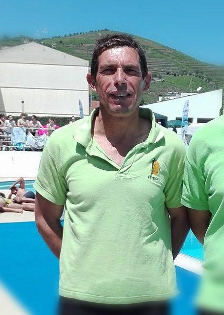 Abilio António em representação master Caldense no I Torneio Master do FCP