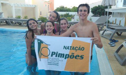 Pimpões/Cimai com bons resultados no último Campeonato Nacional de Infantis da época desportiva