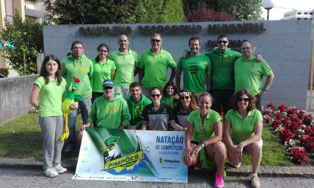 Masters Caldenses obtêm 5 medalhas nos Nacionais de Verão em Vila Nova de Famalicão