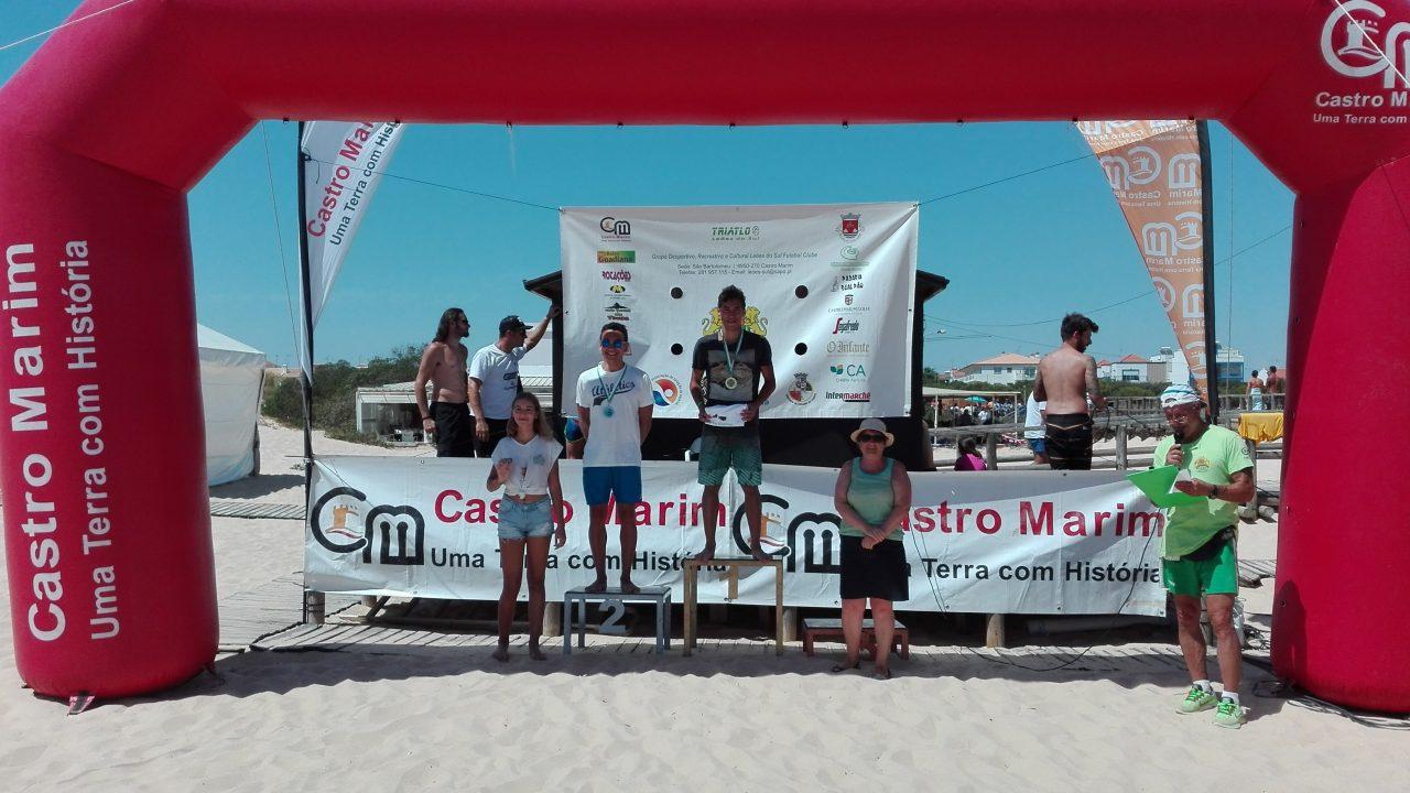 Atletas Caldenses na 15º Prova de Mar de Lagoa e 16º Prova de Mar Vila Castro Marim