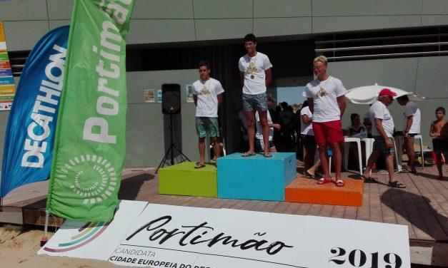 Mais uma etapa para os atletas dos Pimpões, no circuito do Algarve em Águas Abertas