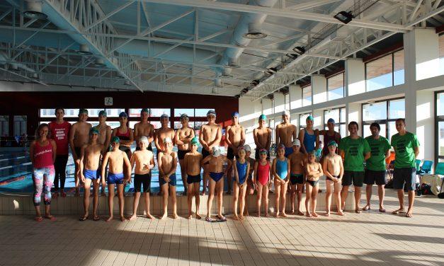 Piscina Municipal acolhe cerca de 70 jovens nadadores no I Festival Interno dos Pimpões