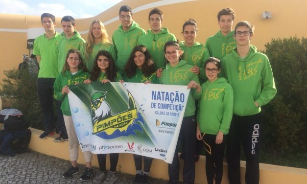 Pimpões/Cimai classifica-se em 9º na XXII Taça Cidade de Alcobaça  |  Inês Henriques é a nadadora mais pontuada com 685 pontos Fina
