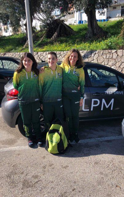 8 medalhas obtidas pelos atletas dos Pimpões/Cimai no Campeonato Nacional de Natação Adaptada em Vila Franca de Xira