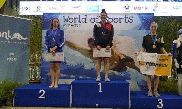 Inês Henriques obtém duas medalhas de bronze na X edição do Meeting Internacional de Lisboa WOS
