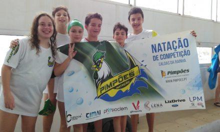 Atletas Cadetes dos Pimpões/Cimai classificam-se no 6º lugar no Leiria Swim