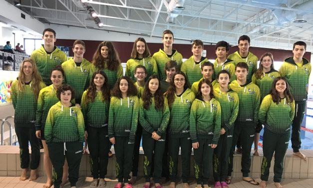 Equipa Absoluta masculina e feminina e equipa Infantil feminina, classificam-se em 3º Lugar  nos Campeonatos Distritais de Clubes