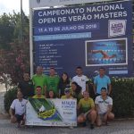 Pimpões/Cimai arrecada 4 medalhas nos XX Campeonato Nacional Masters de Verão – Open Loulé 2018