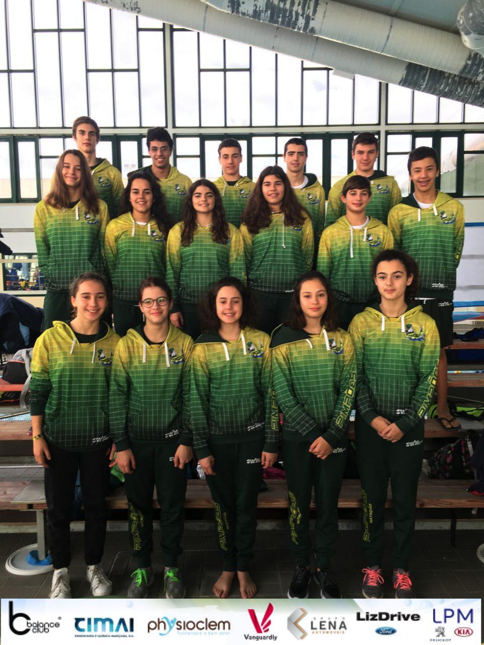 Pimpões/Cimai com três prémios obtidos no Nadador Completo e Torneio de Fundo