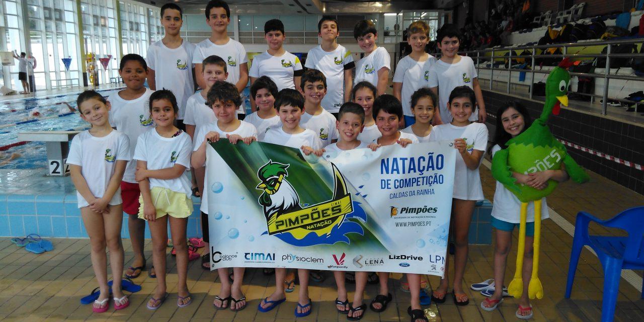 Pimpões deslocam-se a Porto de Mós para nadar no 2º Circuito de Cadetes ANDL