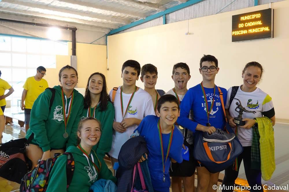 Pimpões participa no X Circuito de Escolas de Natação no Cadaval