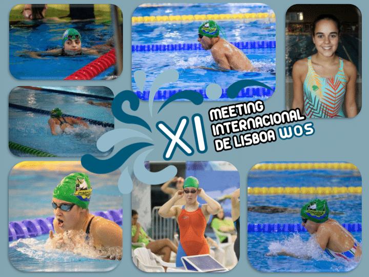 Atletas dos Pimpões conseguem 5 finais na XI edição do Meeting Internacional de Lisboa WOS