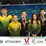 Infantis conseguem obter 7 medalhas Distritais e 3 medalhas Inter Distritais | Gil Lemos sagra-se Campeão Distrital aos 200C e 200B