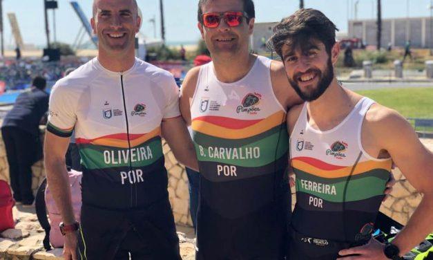 Na primeira participação dos Pimpões/Triatlo no Campeonato Nacional de Clubes, Luis Oliveira regista um excelente 11º