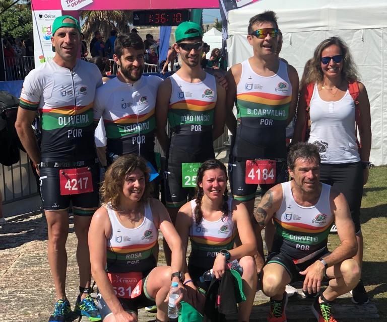 Elisabete Rosa, Luis Carvalhinho e Sandra Machado medalhados no Campeonato Nacional Individual de Triatlo Sprint e no Super Sprint