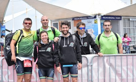 Estafeta constituída por Francisco Freitas e Rui Pereira vence no 35º Triatlo de Peniche