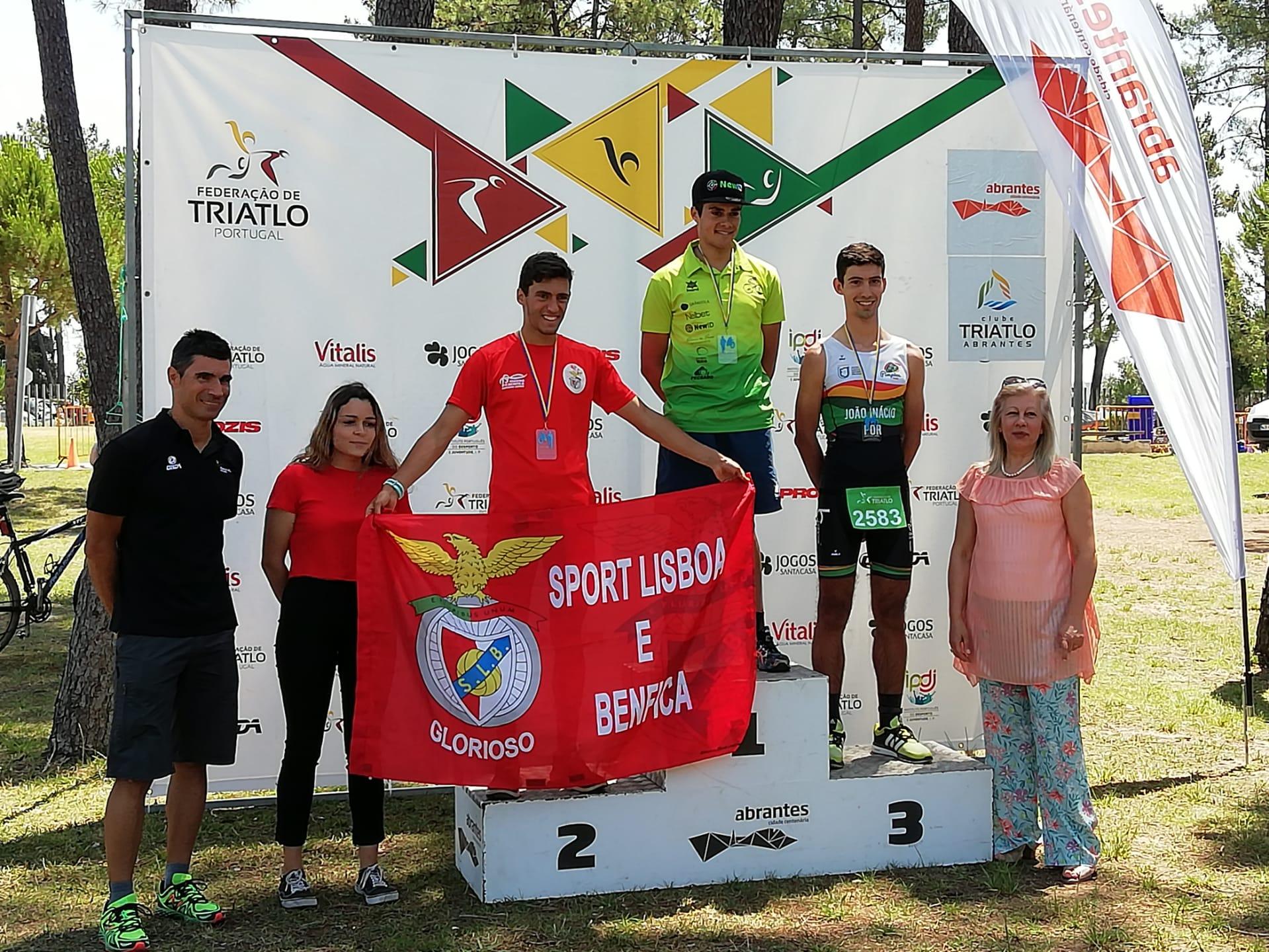 João Inácio do Pimpões Triatlo em 3º lugar no Duatlo Cross João Campos