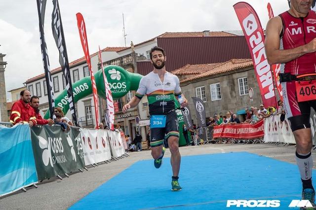 Tiago Isidoro competiu no Triatlo Longo de Caminha