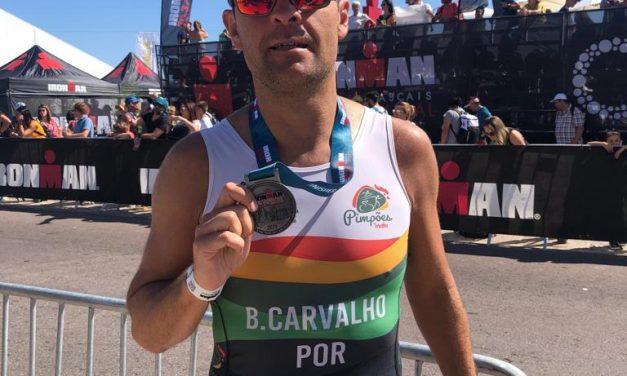 Atletas do Triatlo dos Pimpões participaram no IRONMAN 70.3 Cascais