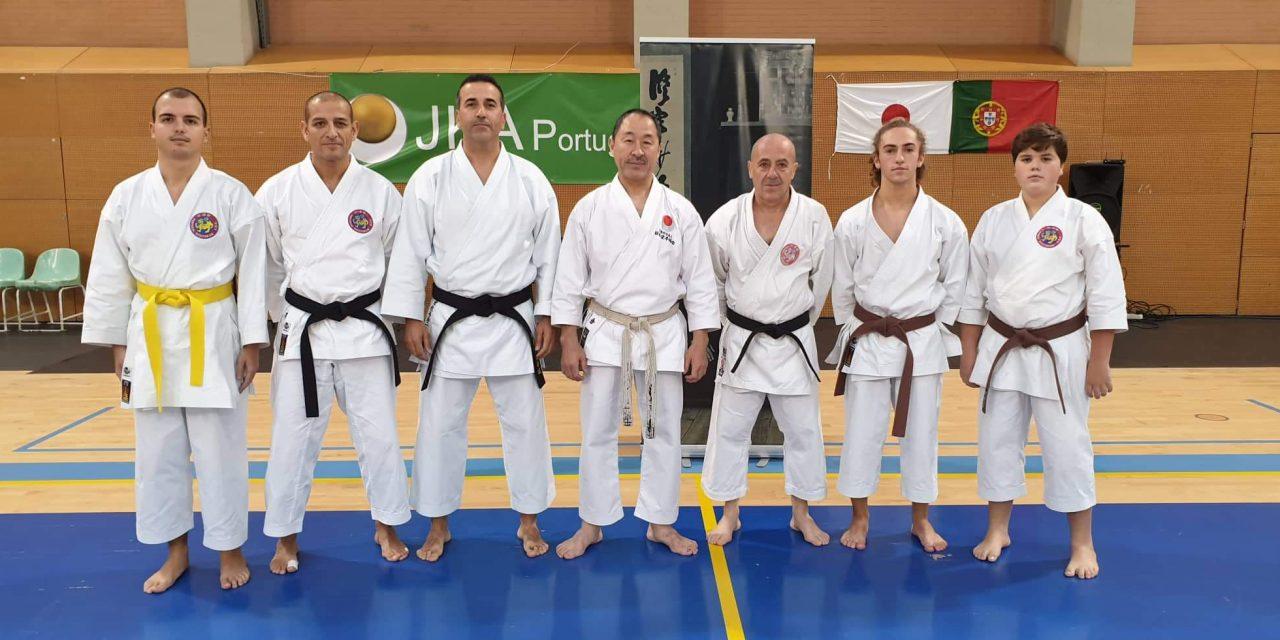 Karaté Shotokan dos Pimpões no Estágio de Outono da JKA Portugal