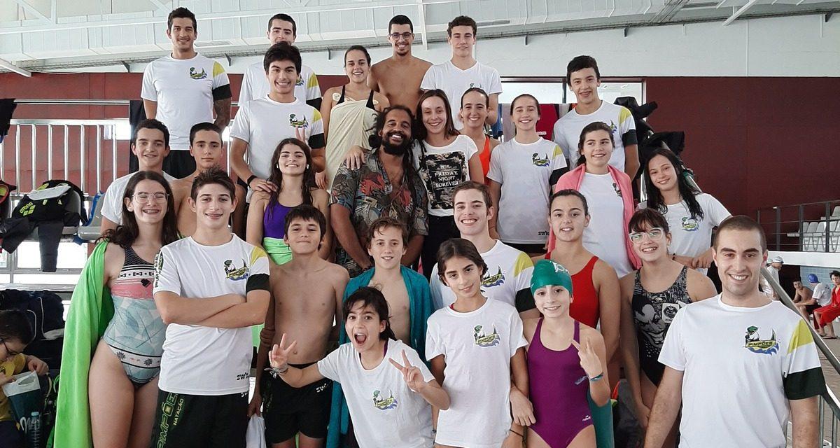 Pimpões receberam 27 medalhas no Campeonato Distrital de Piscina Curta para Juvenis, Juniores e Seniores e Prova de Preparação para Infantis