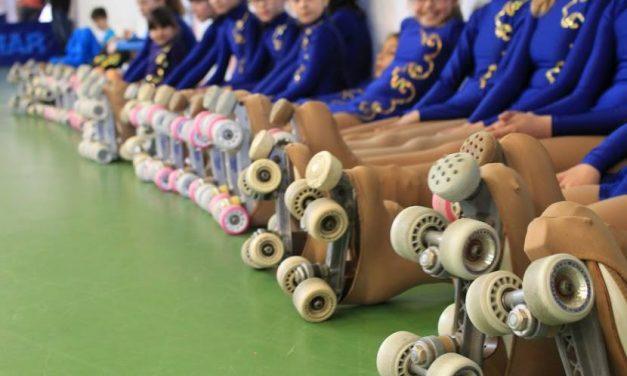 Atletas da secção de patinagem participaram nos Testes de Iniciação e Disciplina