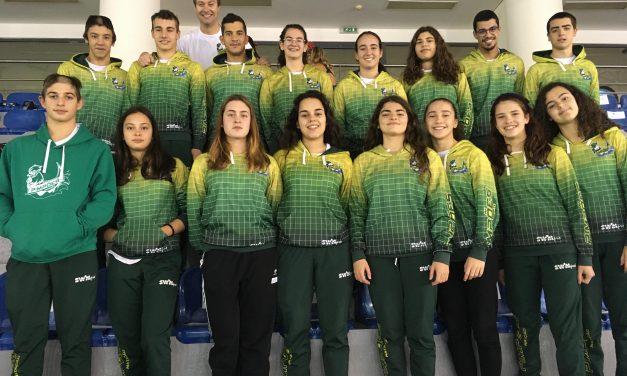 Natação dos Pimpões mantém-se na 3ª divisão nacional