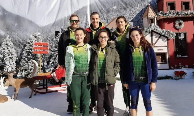 Nadadores dos Pimpões participaram no Torneio Zonal de Juvenis da Zona Sul
