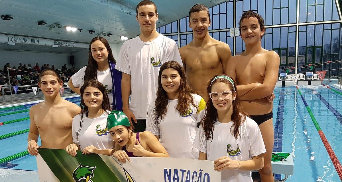 Dez nadadores dos Pimpões com excelentes resultados nos torneios de Pombal